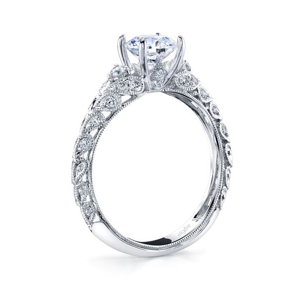 Paisley Vintage Engagement Ring