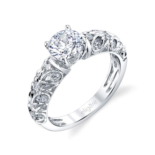 Paisley Classic Engagement Ring