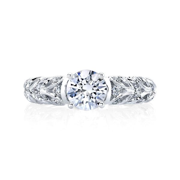 0c7cf0ce2 Eligére Jewelry. Paisley Classic Engagement Ring