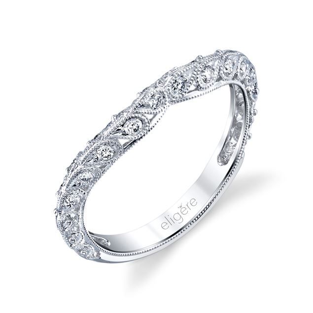 Paisley Vintage Wedding Band