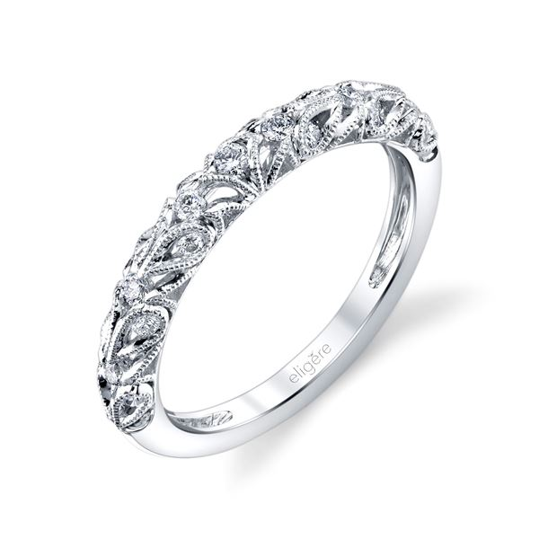 d76444d2c Eligére Jewelry. Paisley Classic Wedding Band