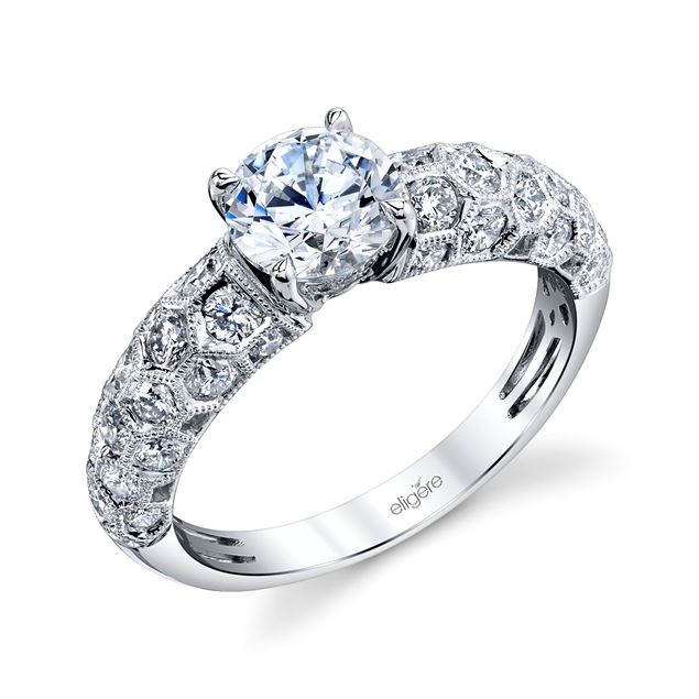 Abeille Engagement Ring