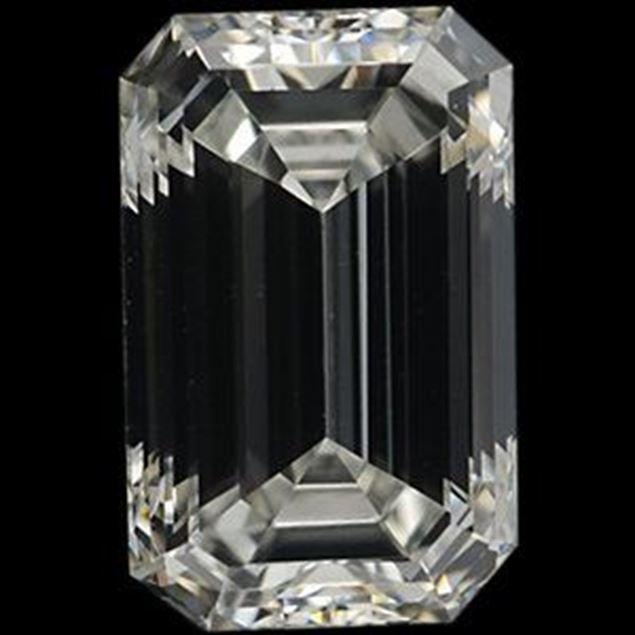 Picture of 0.5 Carat EMERALD CUT Diamond